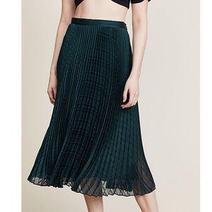 NWT Club Monaco Behtina Pleated Skirt
